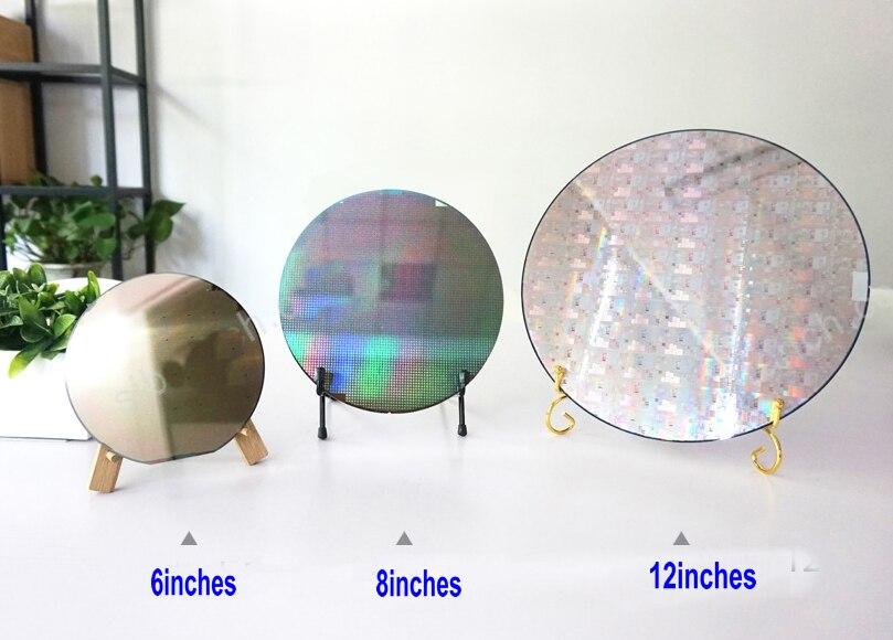 6 8 12 chip de litografia wafer