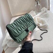 Womens Handbag Shoulder Bag High-quality Designer Crossbody Chain Fashion Wild Woman Small Square 2020 New