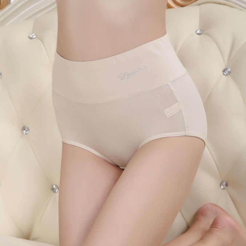 Langsha Thương Hiệu Đồ Lót Nữ Intimated Quần Lót 95% Cotton 5% Spandex Highwaist Cao Nữ Quần Đùi Trung Quốc Nổi Tiếng thương Hiệu