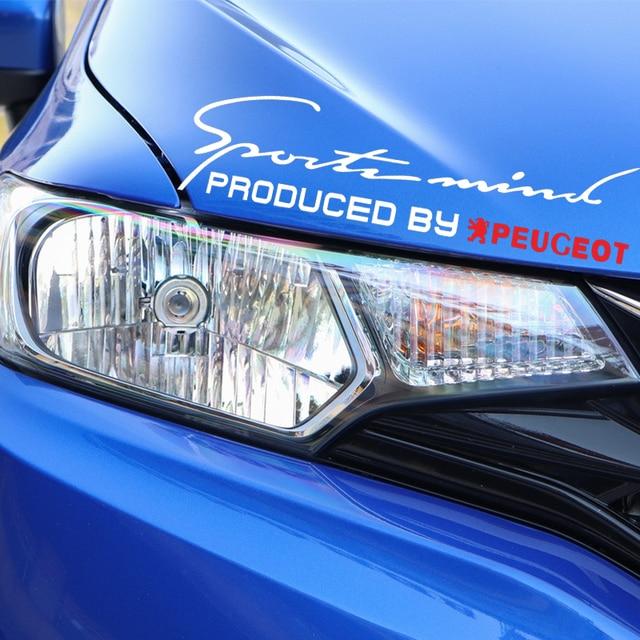 1 шт автомобильный значок эмблема светильник брови наклейка фотография