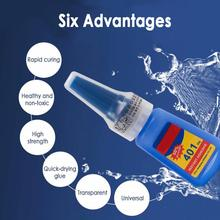 401 Multifunction Super Glue Quick Sol Ceramic Glass Glue Home Tools Household Goods For  All Kinds Of PVC Plastic Materials
