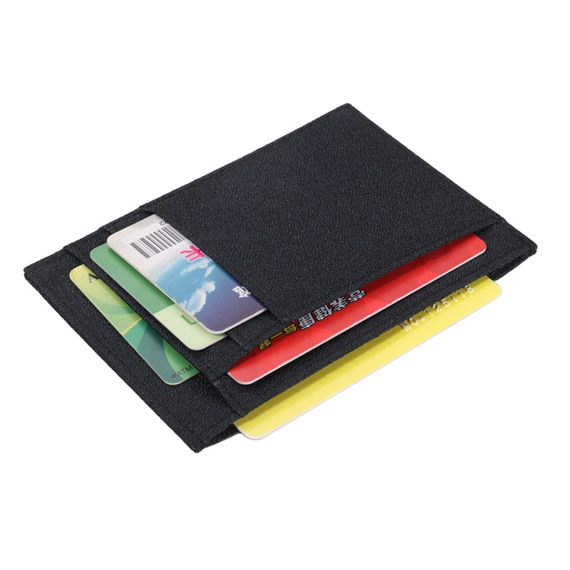 Outdoor Hunting Bags Card Organizer Male Wallets Purses Ultra-slim Card Wallet Men Women Bank Card Package Coin Bag Holder