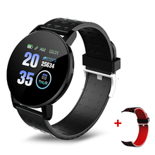 Bluetooth Smartwatch Monitor Blood-Pressure-Measurement Android Woman Sport IOS