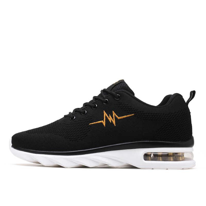 Thương Hiệu Độc Quyền Nam Giày Youqijia Bán 38-45 Nam Sneakers Màu Đỏ Cam Đen