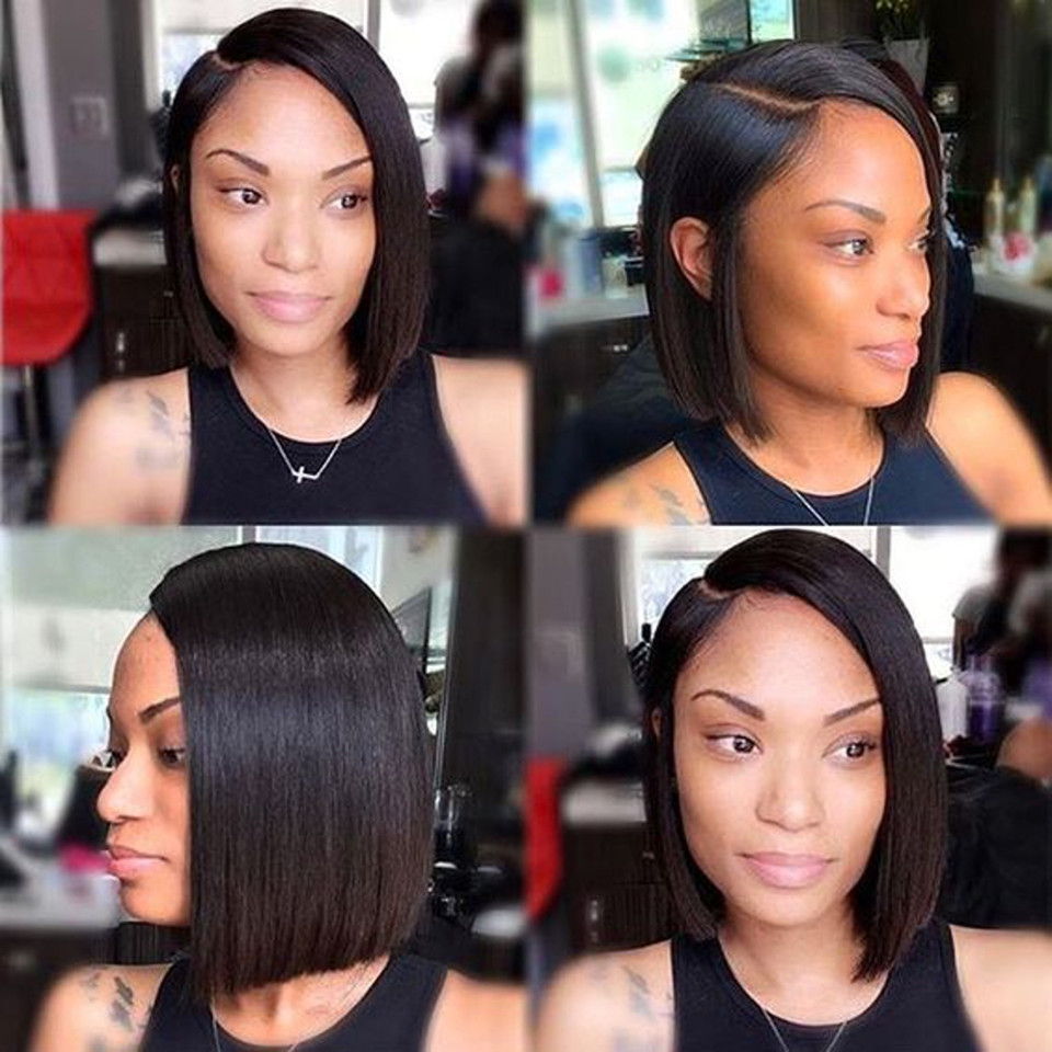 Short Bob Lace Front Wigs For Women