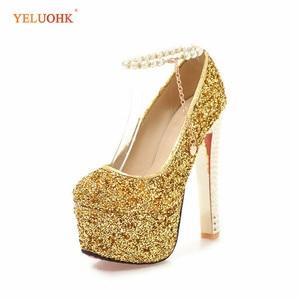 34-43 Extreme High Heels Big Size Sexy Women Shoes High Heels 15 CM Platform Women Pumps