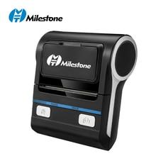 Milestone 80mm Wilreless Bluetooth Printers Thermal Receipt POS Mini Portable Printer ESC/POS With Mobile Android IOS PC