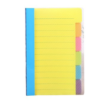 Notebook manual N times sticky notes handwritten notes handy notes PP material Note book Sticky Note scholarly program notes