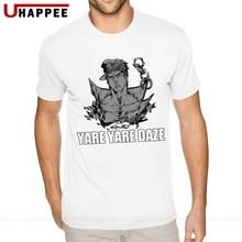 Jojo's Bizarre Adventure Jotaro Kujo – Tee-shirt à manches courtes pour homme, vêtement officiel de marque à la mode