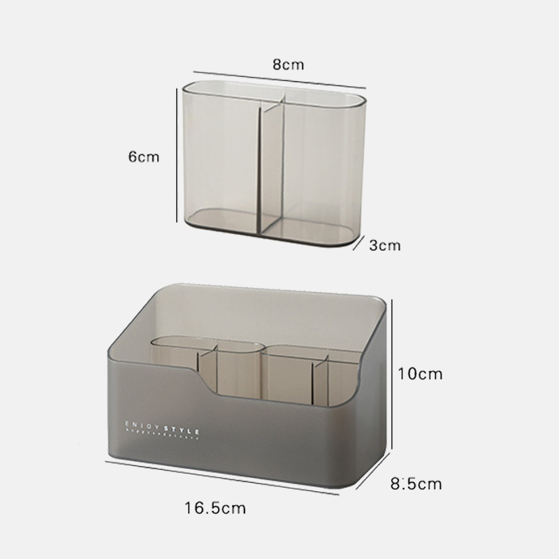 Multi-functional Make Up Cosmetics Organizer Storage Box Skin Care Products Remote Control Cosmetics Jewelry Storage Box