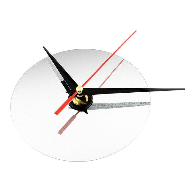 New Clock Watch Wall Clocks 3D DIY Acrylic Mirror Stickers Home Decoration Living Room Quartz Needle Wall Clock 6