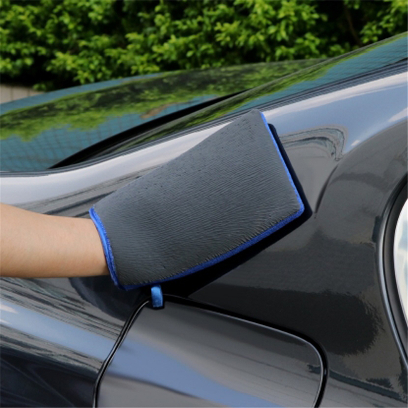 Decontamination Grinding Mud Nano Car Gloves Car Wash Tools Paint Finish Super Decontamination Wear-resisting