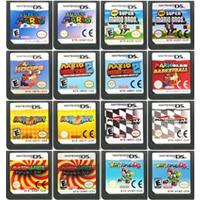 DS cartouche de jeu carte Console Mari ancienne série langue anglaise pour Nintendo DS 3DS 2DS