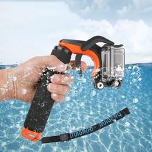 Floating Bobber Grip Pistol Trigger Set for GoPro Hero 6 5 7 Xiaomi Yi 4K SJCAM SJ4000 H9r Cam Phone Dome Go Pro Accessory цена и фото