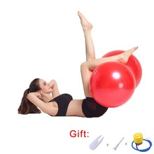 Pilates Peanut Yoga Ball Anti-Burst Home Exercise Ball Fitness Explosion-proof Gym Outdoor Sports Balance Fitball 30cm/45cm/50cm  - buy with discount