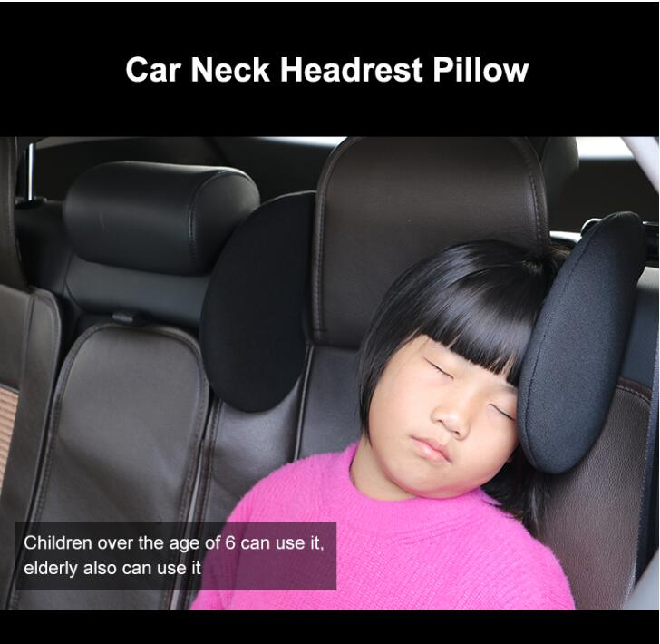 cheapest Universal Car Neck Pillow Auto Head Rest Cushion Neck Rest Cushion PU Leather Soft 3D Memory Foam for Seat Chair In Auto