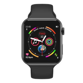 Bluetooth Smart Watch Waterproof Multi-Function Supports Dial Answer Call Messages Reminder Rotation Menu for All Apple Strap