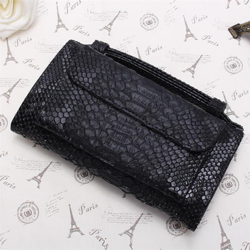Wallet Female Multifunction Snake Skin Women's Long Wallet Crocodile Pattern Phone Purse Card Holder Wallet For Women 2020 New