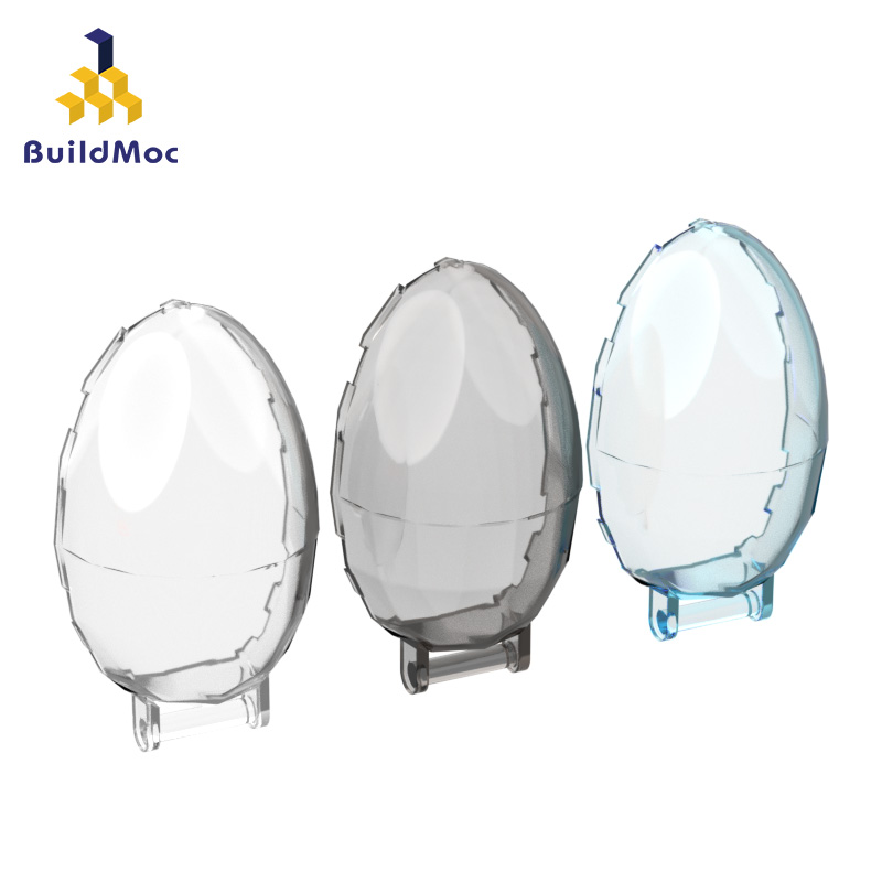 BuildMOC 87752 Windscreen 6 X 4 X 2 Bubble For Building Blocks Parts DIY LOGO Educational Creative Gift Toys