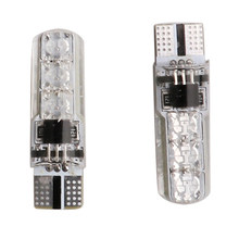 on/off LED Lights T10 Interior Wedge Side Strobe Remote Control DC12V 120Lm 360 Degrees Flashing(China)
