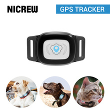 NICREW Dog GPS tracker Pet Locator for Dogs Cats Smart Real Time Positioning Tracking Device with Collar IP67 Waterproof & APP стоимость