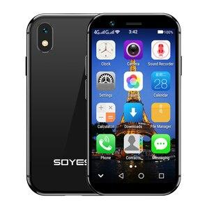 """Image 2 - Soyes xsスモールミニ4 3gスマートフォンのサポートgoogleのプレイ3ギガバイト + 32ギガバイト2ギガバイト + 16ギガバイト3.0 """"携帯電話android 6.0のロック解除デュアルsim顔id"""