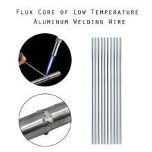 50pcs 2mm*500mm Low Temperature Welding Wire Aluminum Electrode Flux Core (no Flux) Multi-tools