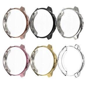 Image 2 - Nieuwe Hoge Kwaliteit TPU Slim Smart Horloge Beschermhoes Cover voor Garmin Vivoactive 3 3 Muziek Frame Smartwatch Accessoires