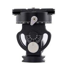 2 Way แพน/เอียงขาตั้งกล้อง Panoramic BIRD ดู Timelapse การถ่ายภาพบอลหัวจานด่วนสำหรับการถ่ายภาพวิดีโอ
