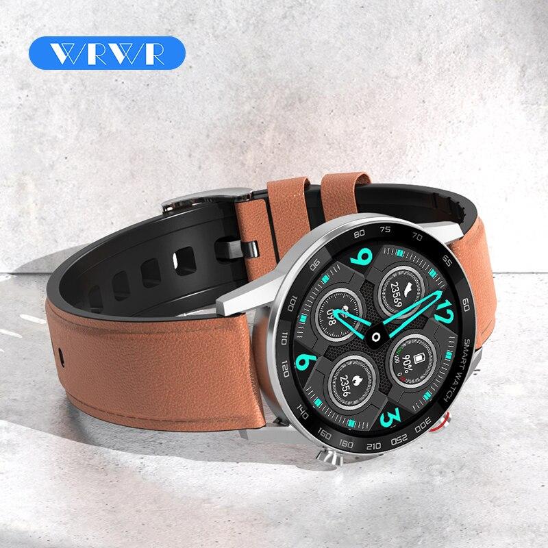 2021 Смарт-часы WRWR ECG с Bluetooth, Смарт-часы с вызовом для мужчин и женщин, спортивный фитнес-браслет, часы для Android, Apple, Xiaomi, Huawei