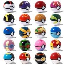 Bolas de elfo Multicolor de 7CM para mascotas, Pokeballs con figuras de 2-3Cm, juguetes para dormitorio, muebles para niños