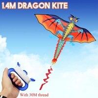 3D Dragon Kite Suit Single Line With Tail Kites Outdoor Fun Toy Kite Family Outdoor Sports Toy Children