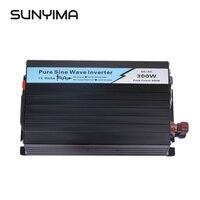 SUNYIMA 1Pc 300W Pure Sine Wave Solar Power Inverter DC 12V/24V To AC 220V 50HZ OFF Grid Inverter For Solar System Car Invertor