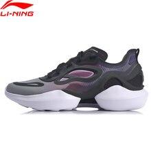 Li-ning mulher subindo estrela estilo de vida à moda sapatos a tendência forro esporte lazer sapatos li ning wearable tênis de fitness aglq038