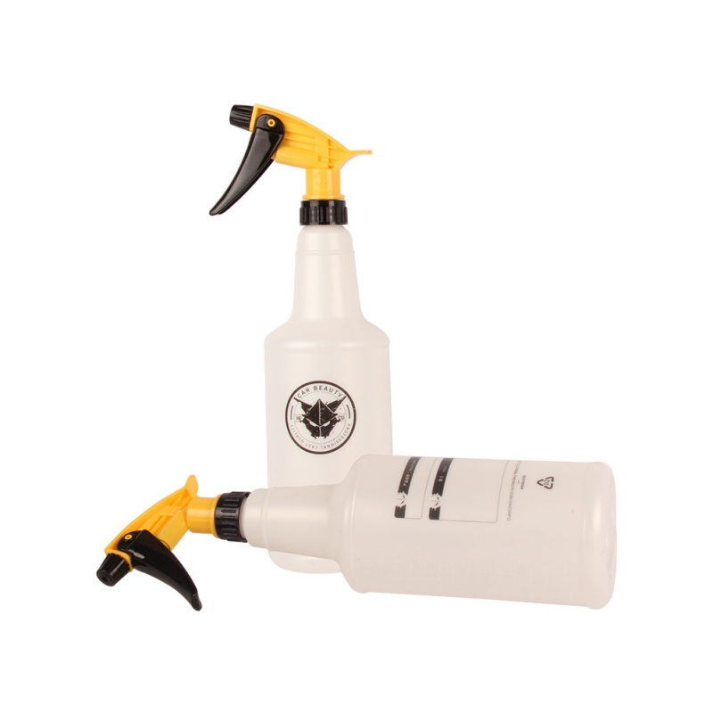 Car Cleaning Tool 1Pcs 800ML Ultra-fine Water Mist Cylindrical Spray Bottle Chemical Resistant Sprayer Bottle