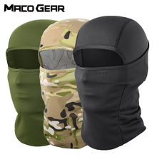 Tactical Balaclava Military Cycling Full Face Cover Ski Mask Scarf Camo Black Outdoor Sport Bicycle Hiking Hat Men Women Summer