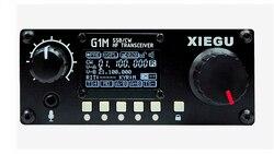2020 neueste G-CORE SDR Amateur Radio XIEGU G1M SSB/CW 0,5-30 MHz Moblie Radio HF Transceiver Schinken QRP