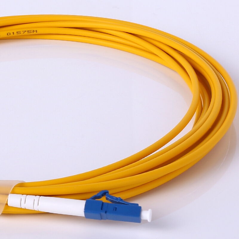 AMPCOM LC волоконный патч-кабель Simplex 9/125 LC/UPC к LC/UPC Одномодовый Перемычка Одномодовый патч-корд lc/lc SMF