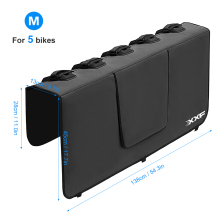 Protection-Pad Truck Tailgate-Cover Mountain-Bike Bike-Frame with Fixing-Straps for Pick-Up-Pad