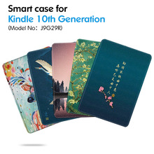 Case for Amazon All-new 6 Inch Kindle 10th Generation e-Books (Model J9G29R) -Lightweight Smart Shell Cover with Auto Sleep/Wake case for amazon kindle 8 th gen 2016 model 6 tablet case e book smart cover for kindle 558 with auto wake up sleep