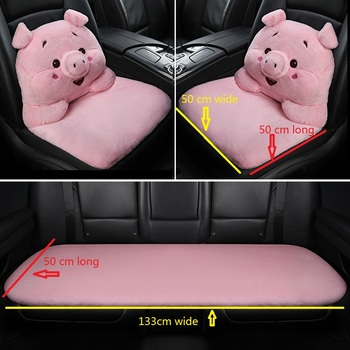 Car MATS three-piece suit Short plush Hand Sew Car  For Renault Koleos 2009-2014 Samsung QM5