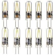 10X Mini G4 COB LED Filament Light Bulbs 3W 12V Replace 15W Halogen Lamps indoor lighting bulbs