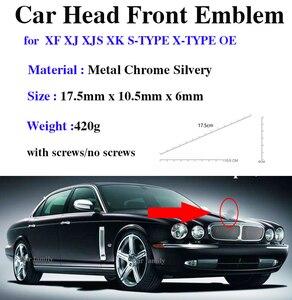 Image 1 - Design original accessorie emblema do carro para xf xj xjs xk S TYPE X TYPE oem 1 pçs estilo do carro capa dianteira cabeça emblema cobre