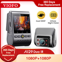 VIOFO A129 Duo IR передний и внутренний двойной видеорегистратор 5 ГГц Wi-Fi Full HD 1080P буферный режим парковки для супер такси