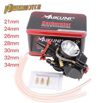 цена на Universal Black Mikuni 21 24 26 28 30 32 34mm Engine Part Motorcycle Carburetor Maikuni PWK Carburetor With Power Jet Dirt Bike