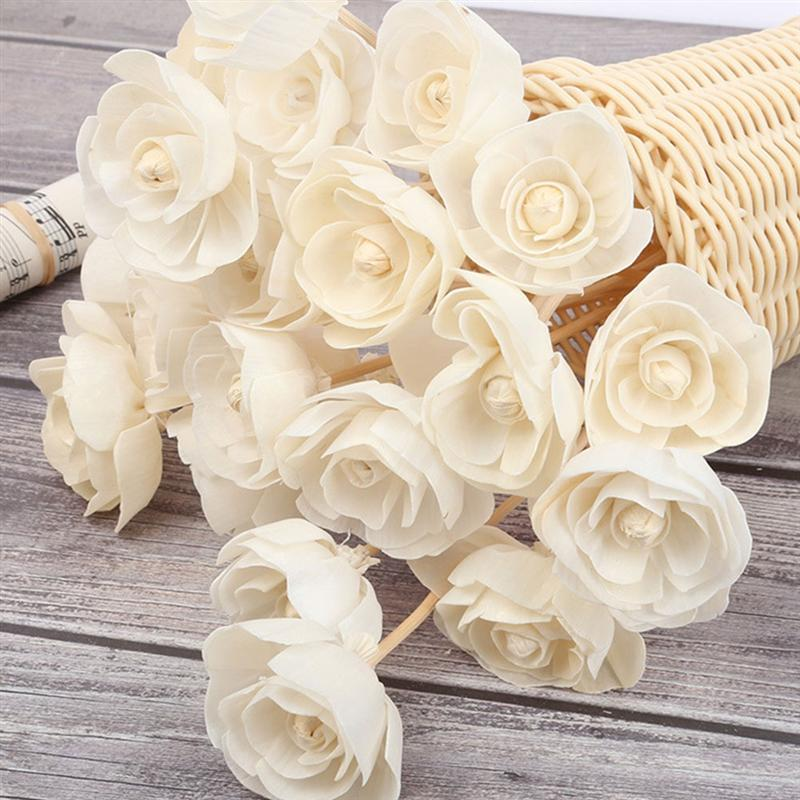 5/10Pcs Reed Diffuser Replacement Stick Wood Rattan Reeds Through Flowers Diffusers Accessories Modern DIY Home Decor