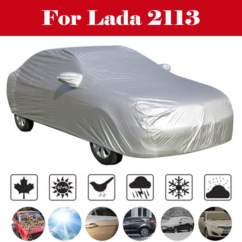Car UV Protector Cover Shields Windshield Sun Shades For All Weather Car Front Window Cover Snow Cover For Lada <font><b>2113</b></font> image
