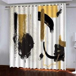 Zdjęcie drukowane zasłony zaciemniające salon okno sypialni zasłony niestandardowy artystyczny design grube zasłony