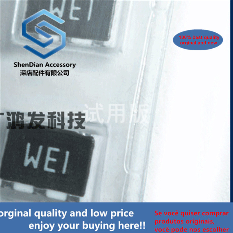 5pcs 100% Orginal New GFWE1 FM Band Pass Filter SMD-5 Screen Printing Type WEI WE1