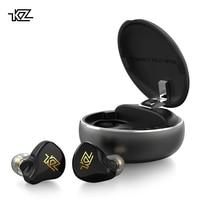 KZ T1 TWS Wireless Earphones Bluetooth 5.0 Earphones Hybrid HIFI Bass Earbuds Headset Sport Noise Cancelling HD Earphones
